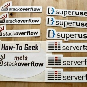 Stack Overflow Stickers